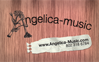 Angelica Music Business Card