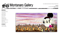 montanaro gallery website